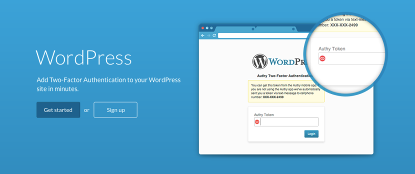 Authy for WordPress