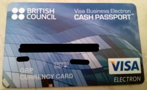 Kartu dari British Council