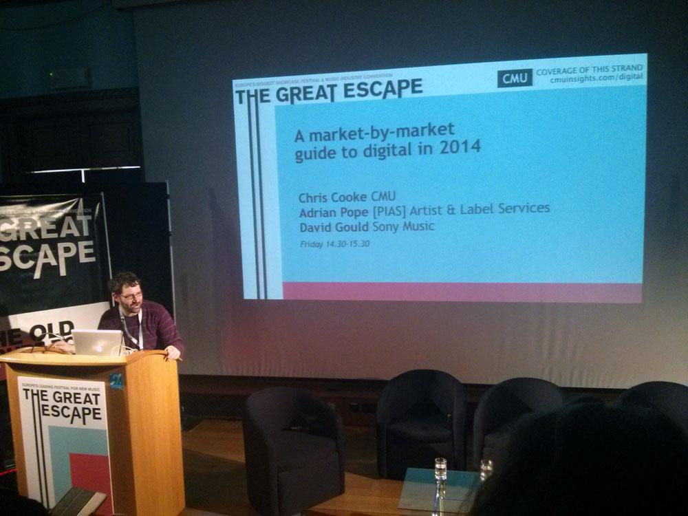 Pembukaan seminar oleh Chris Cook dari CMU