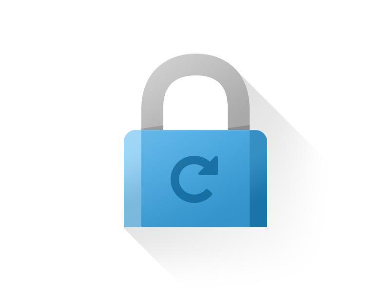 Icon ganti password. Sumber: Tamy Lemos.